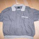Men's Short Sleeve XXL Grey Polo Shirt BNK1383
