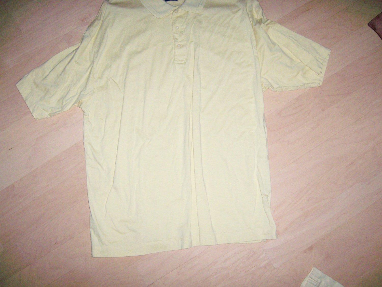 Men's Golf Shirt XXLTall By Dockers Golf  BNK1400