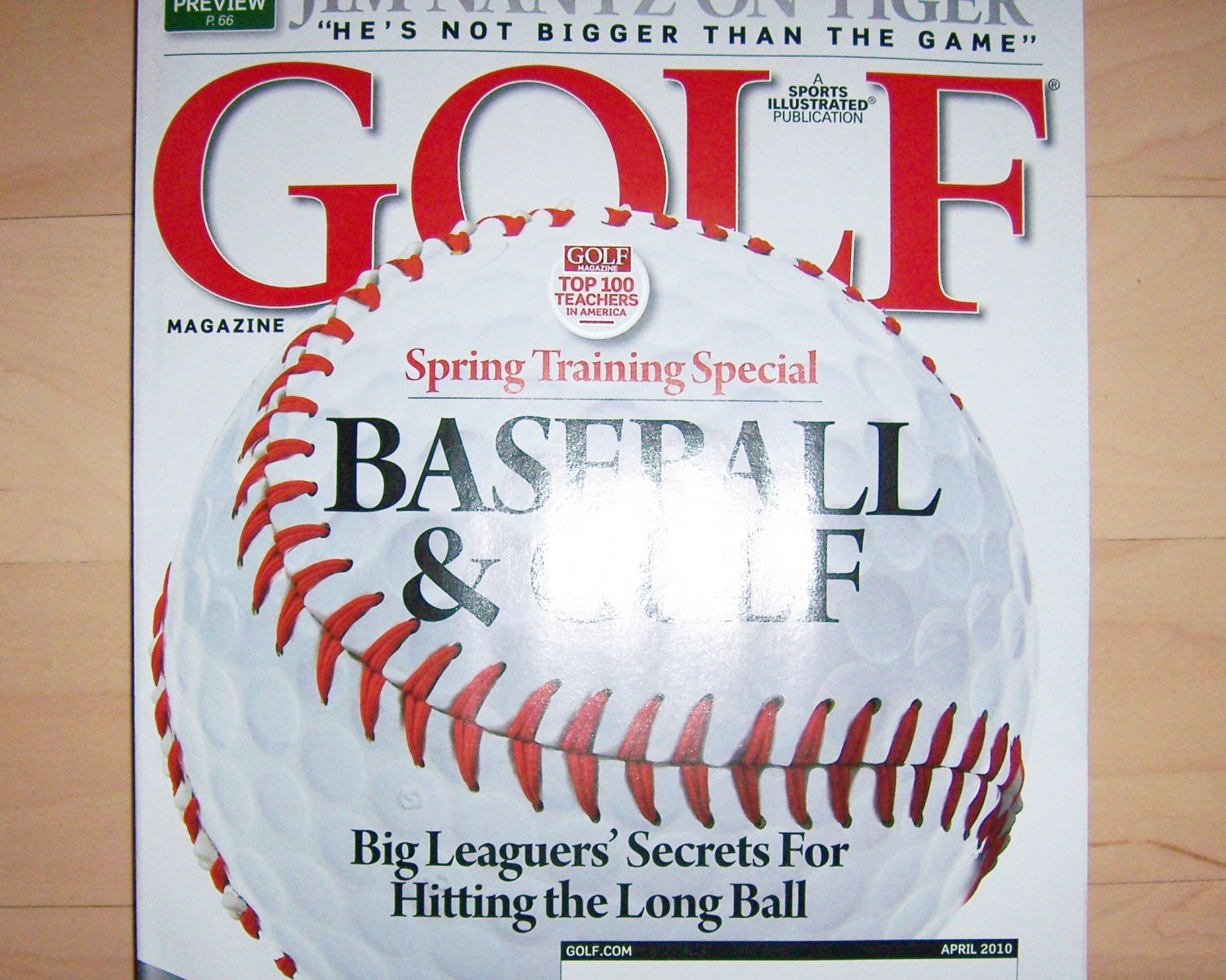 Golf Magazine April 2011 BNK1426