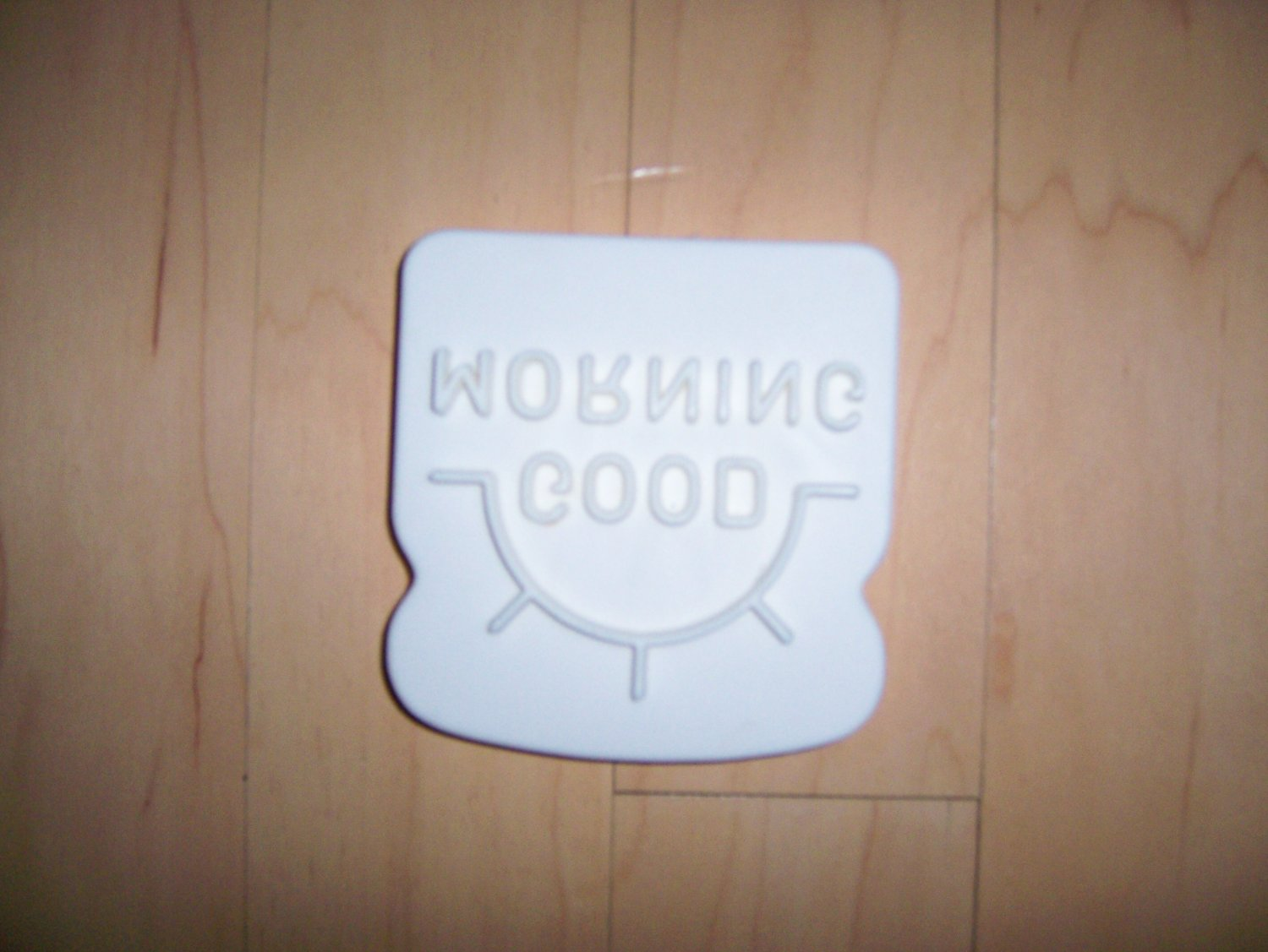 Stencil Good Morning w Magnet  BNK1430