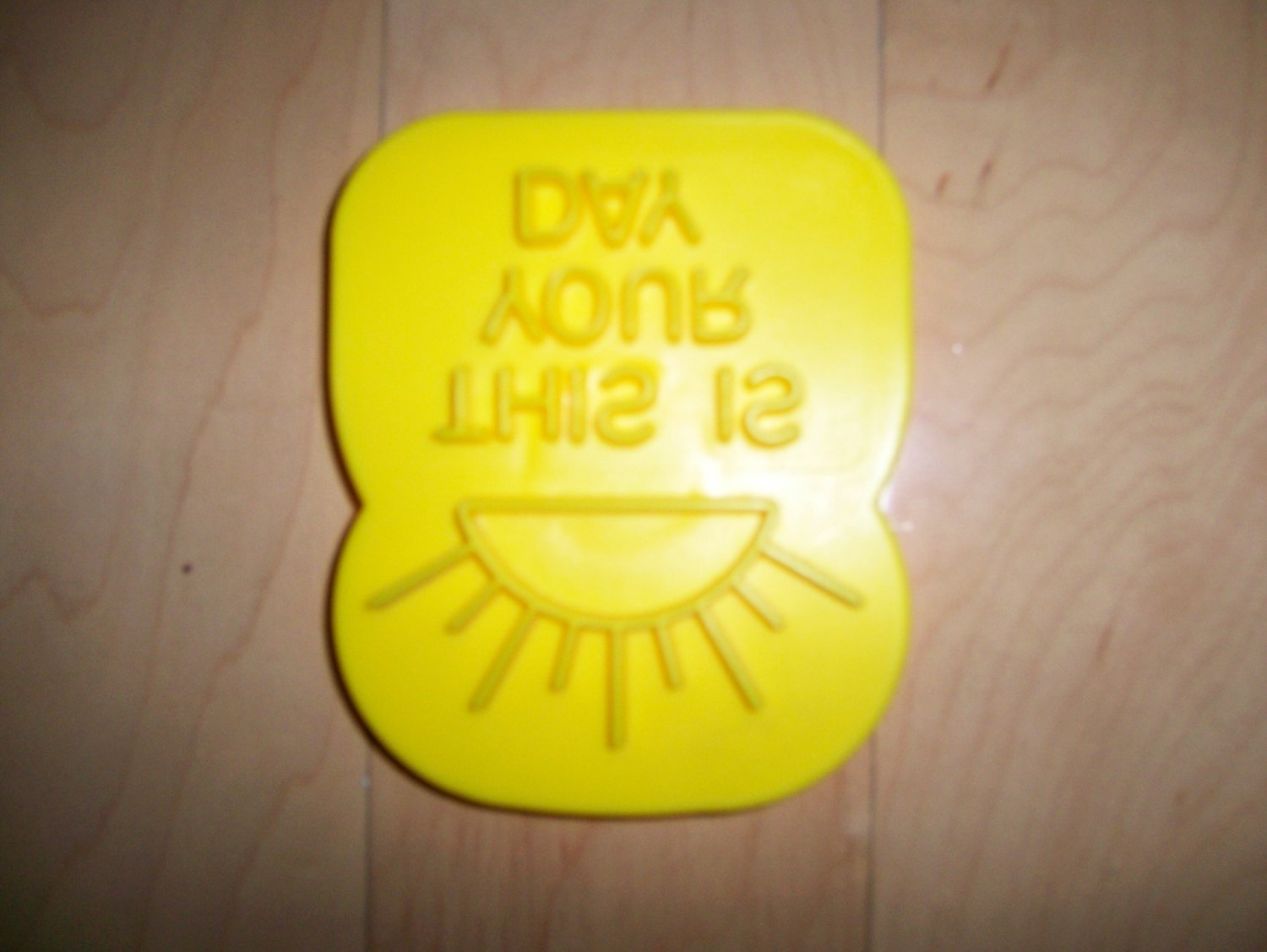 Is This Your Day Stencil W Magnet BNK1431