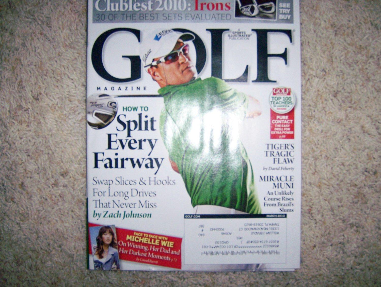 Golf Magazine  March 2010  BNK1459