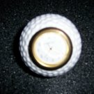 "Golf Ball Shaped Clock 3"" By Dansport  BNK1464"