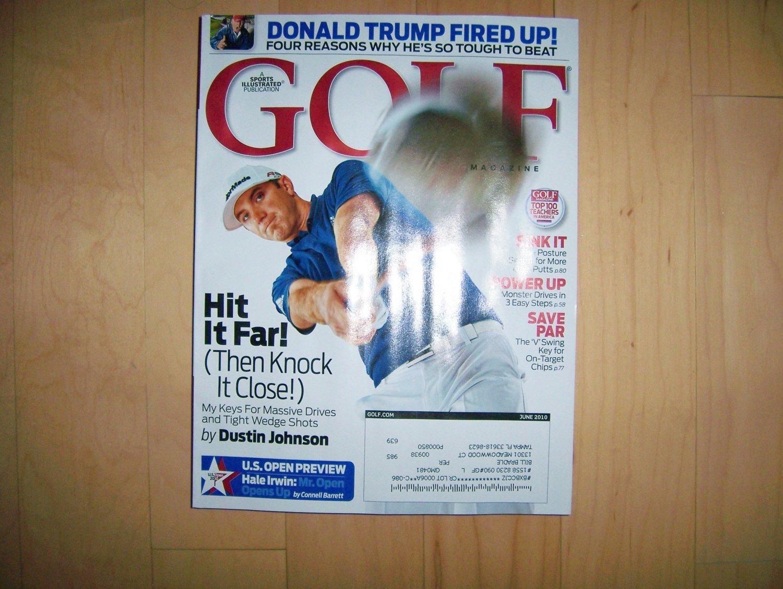 Golf Magazine July 2010  BNK1465