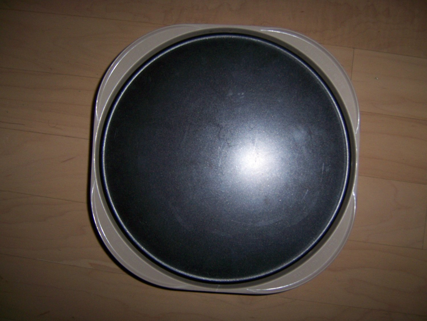 """MicroWave Oven Plate Skillet Plate Square 12"""" BNK1469"""
