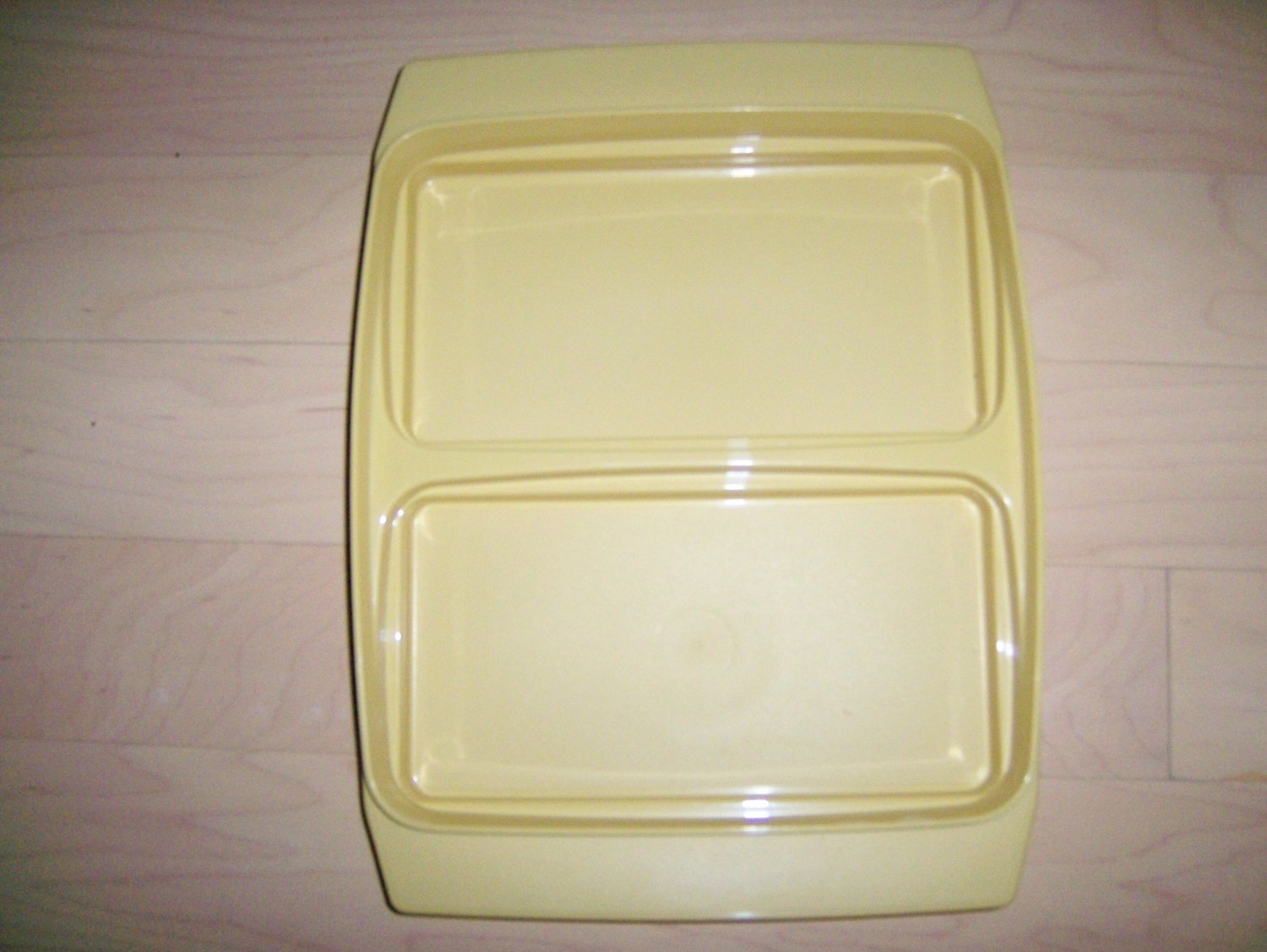 MicroWave Two Partioned Plate  BNK1471