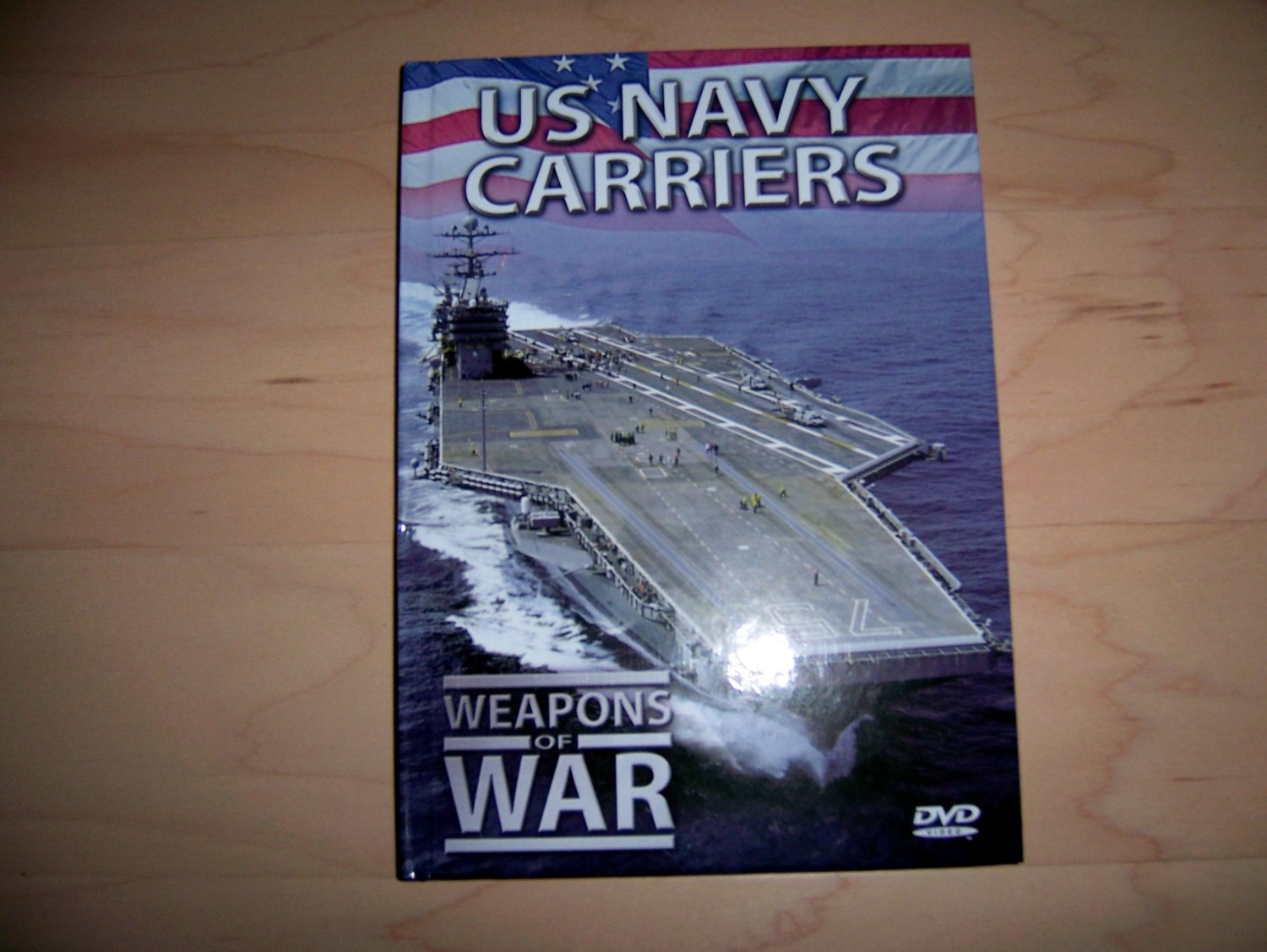 US Navy Carriers Weapons Of War DVD & Booklet BNK1497