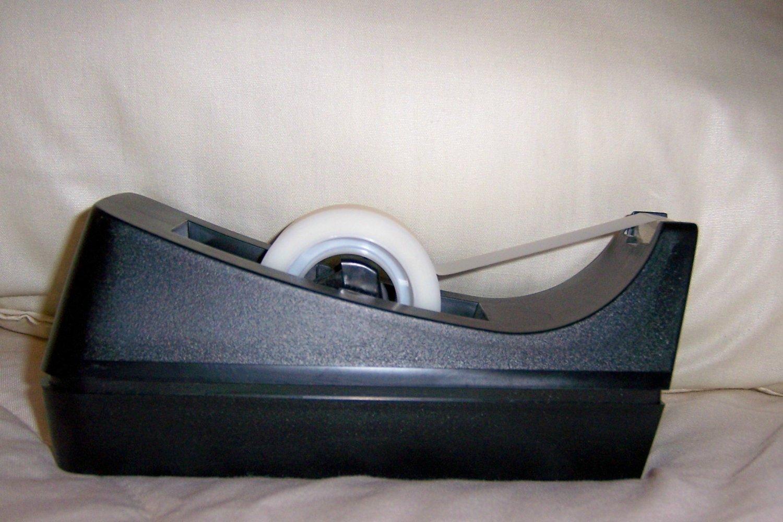 Scotch Tape Holder Desk Style Black BNK1498