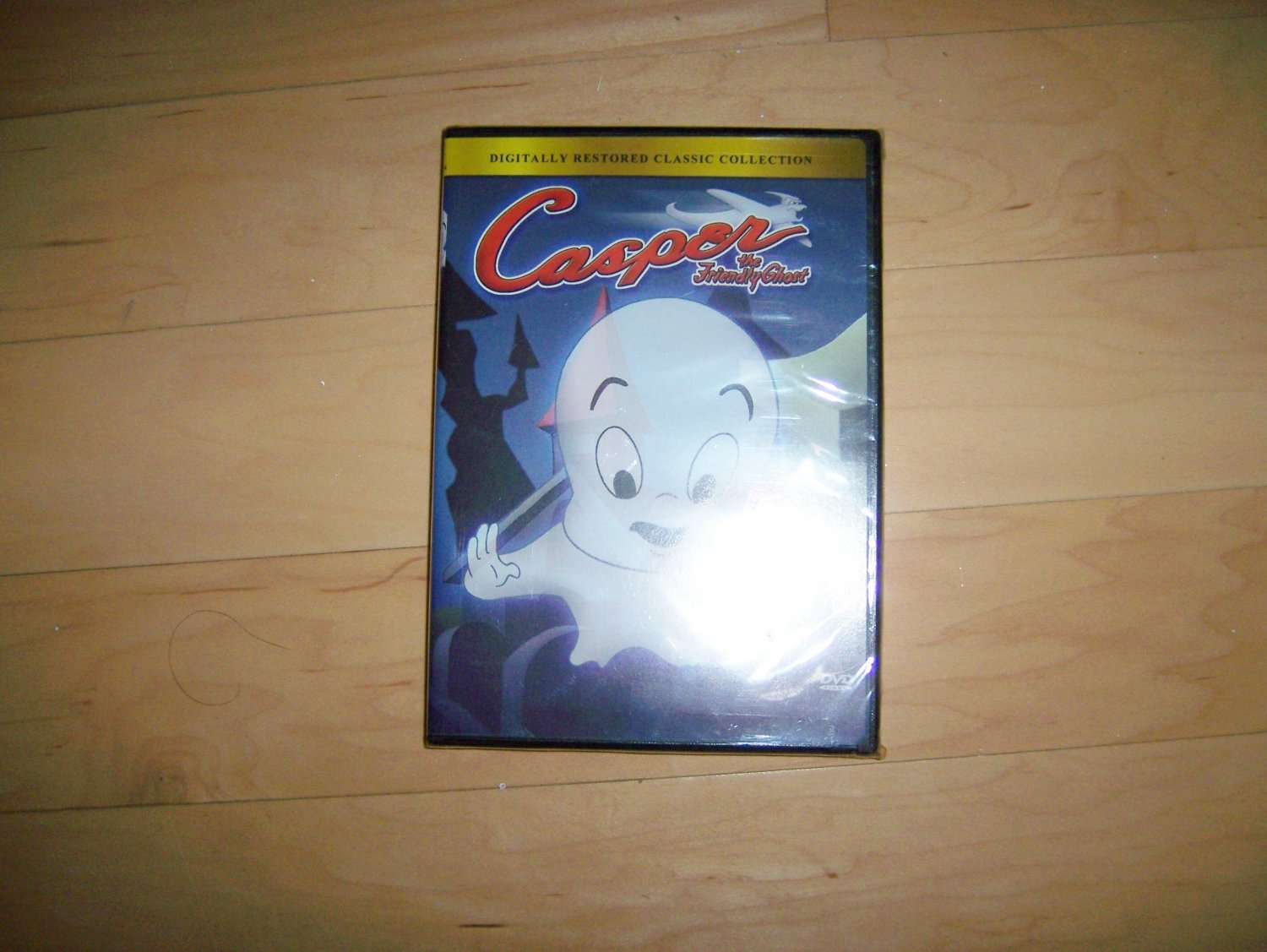 """DVD Casper """"The Friendly Ghost"""" Classic Collection BNK1500"""