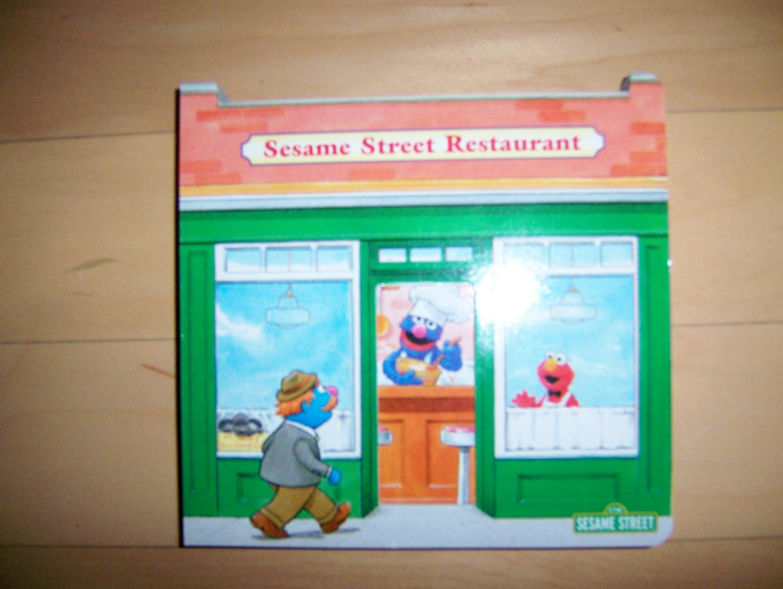 Sesame Street  Resturant  Fully Illustrated  BNK1508