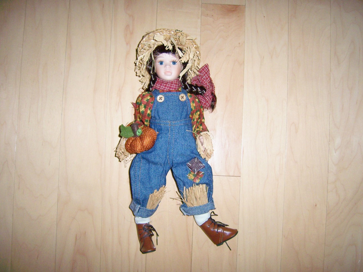 Girl Cowboy Straw Doll  BNK1522
