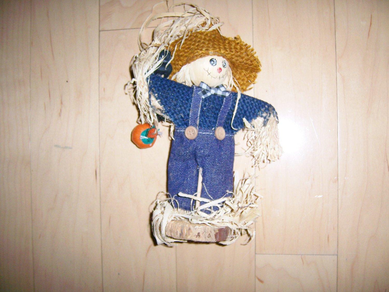 """Straw Doll 10"""" Standing BNK1524"""