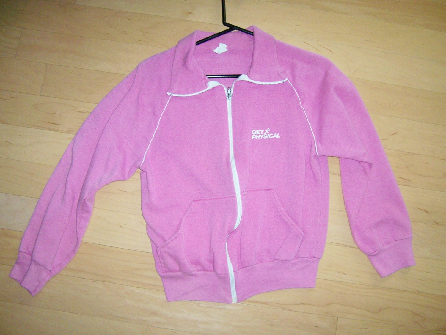 JAcket Get Physical Logoed  Med Polyester/Cotton BNK1532