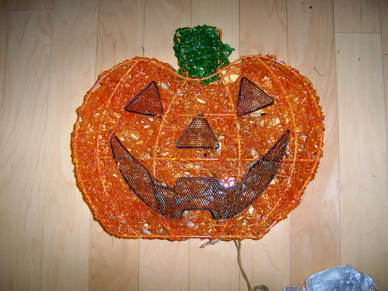 Pumpkin Electric Lighting If Wanted  BNK1537