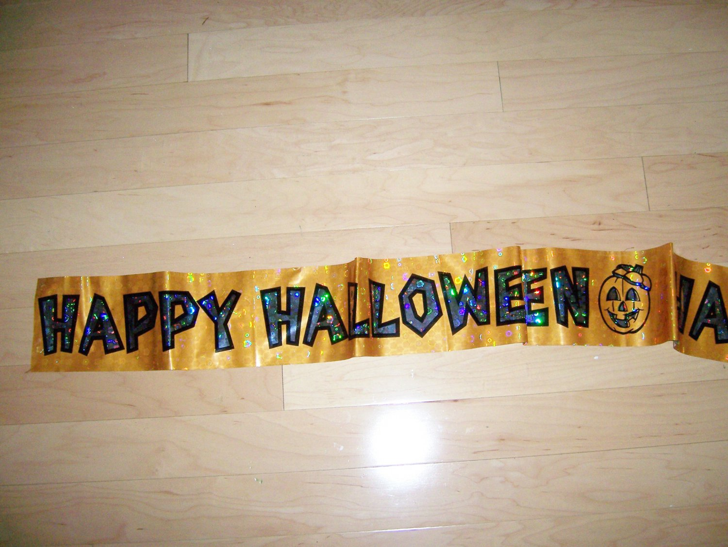 "Happy Halloween Streamer  74""  BNK1545"