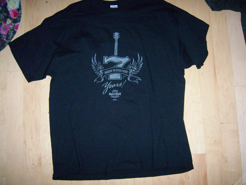 Hard Rock Casinos Shirt  2XL Black  BNK1549