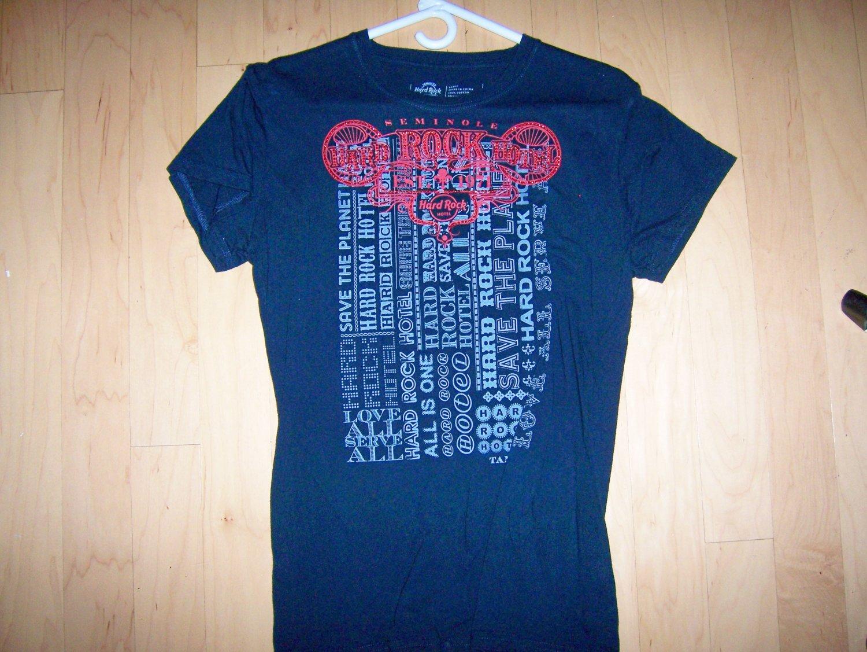 Hard Rock Shirt Large Black BNK1553