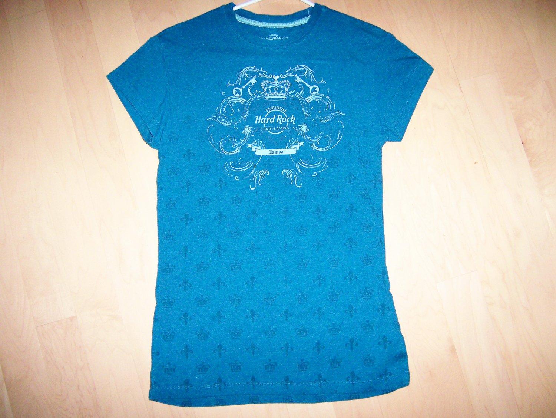 Hard Rock Shirt Blue Rock Couture Medium BNK1559