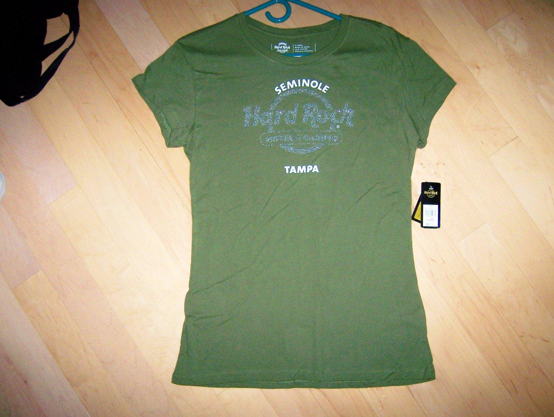 Hard Rock Green Shirt XL  BNK1569