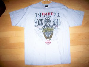 Hard Rock Grey XLarge Shirt BNK1570