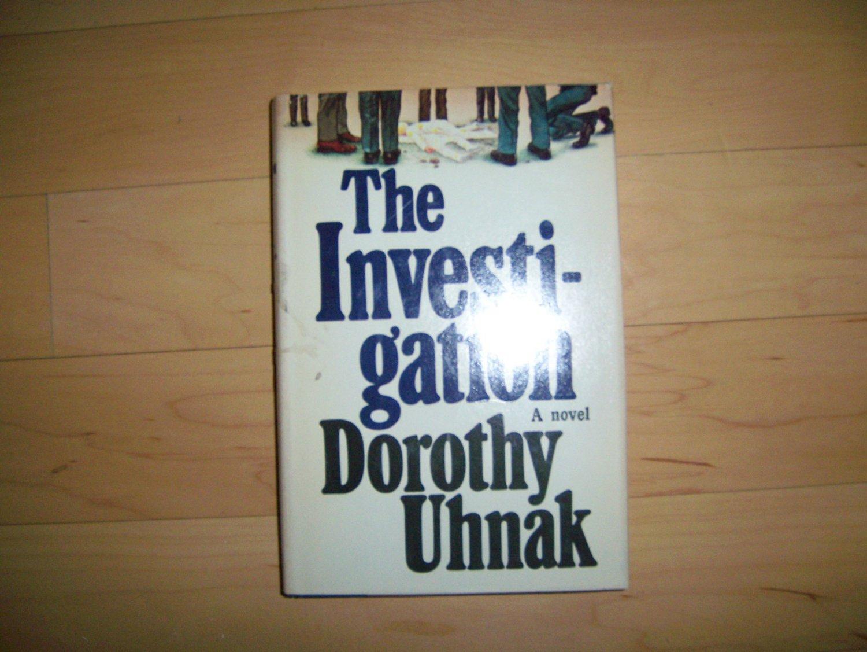 """The Investigation"" BY Dorothy Uhnak Hardcover Novel BNK1573"