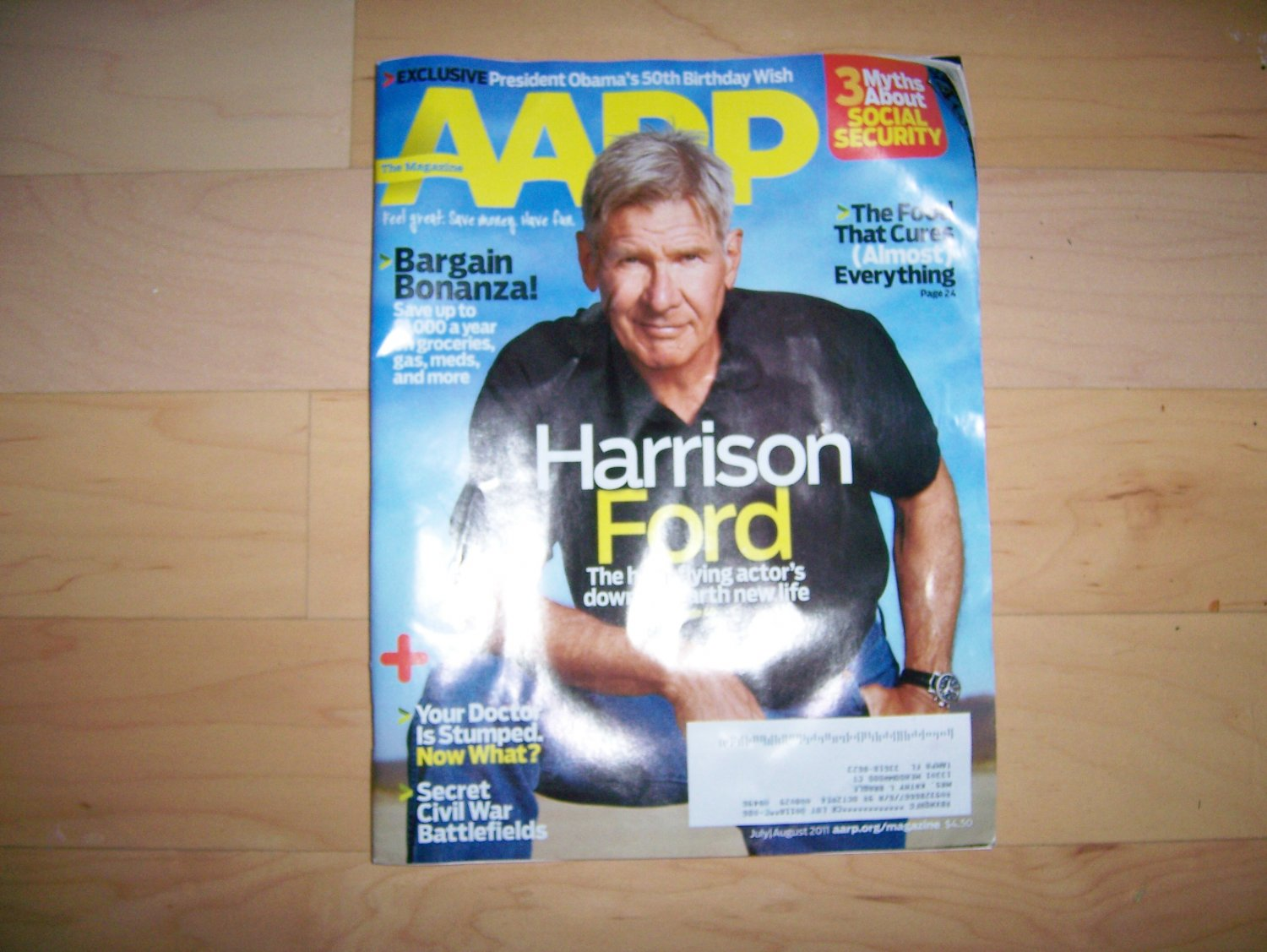 AARP Magazine July/August 2011  BNK1584