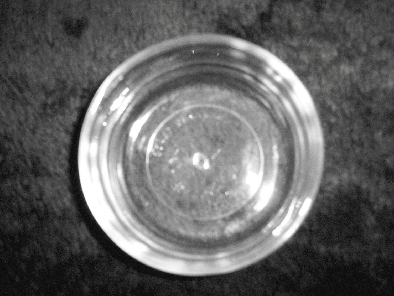 "Glass Serving Dish 3 1/2"" x 1 1/2"" BNK1590"