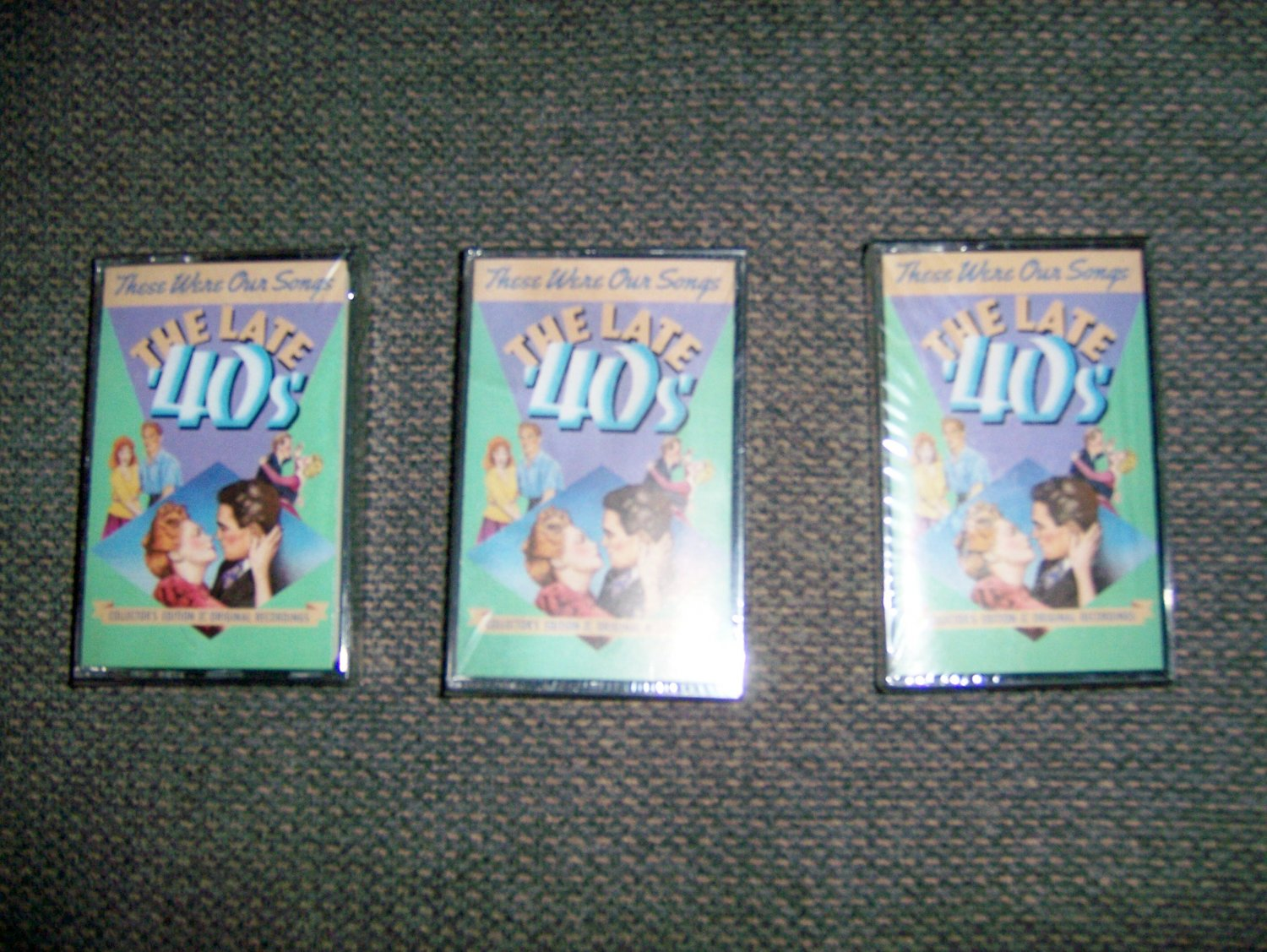 Cassettes These Were Our Songs 2 Sided Set Of 3 BNK1602