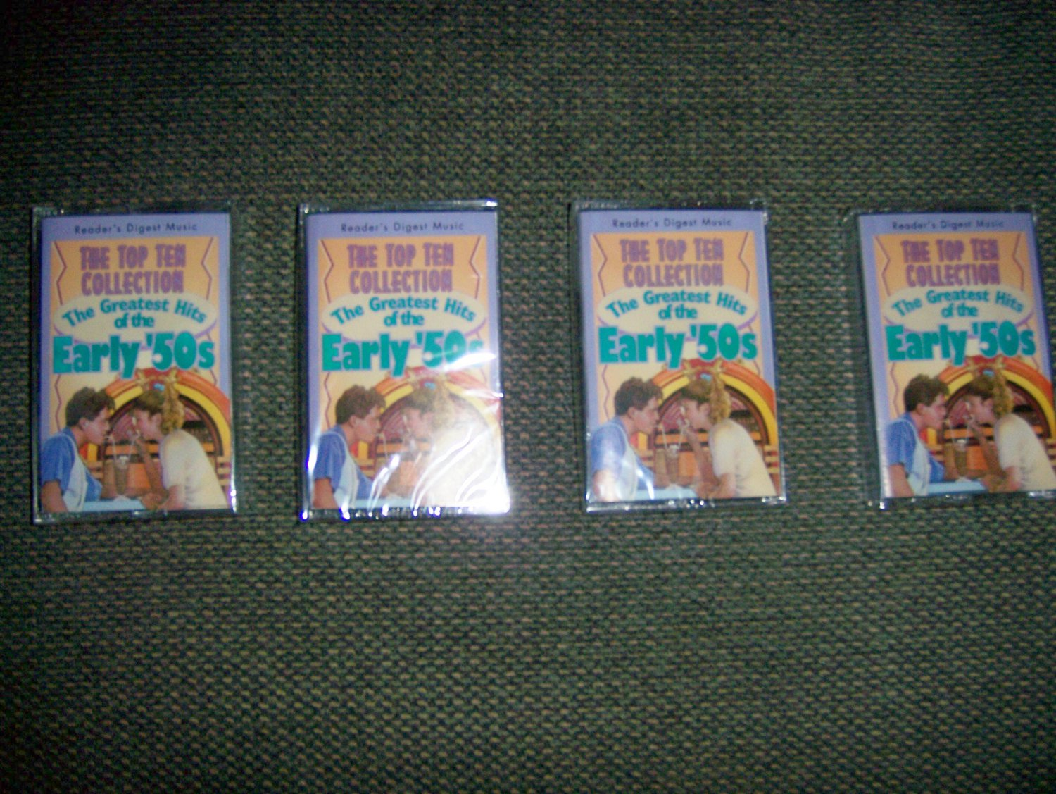Cassettes Top Ten Collections The Greatest Hits Of Early 50's BNK1604