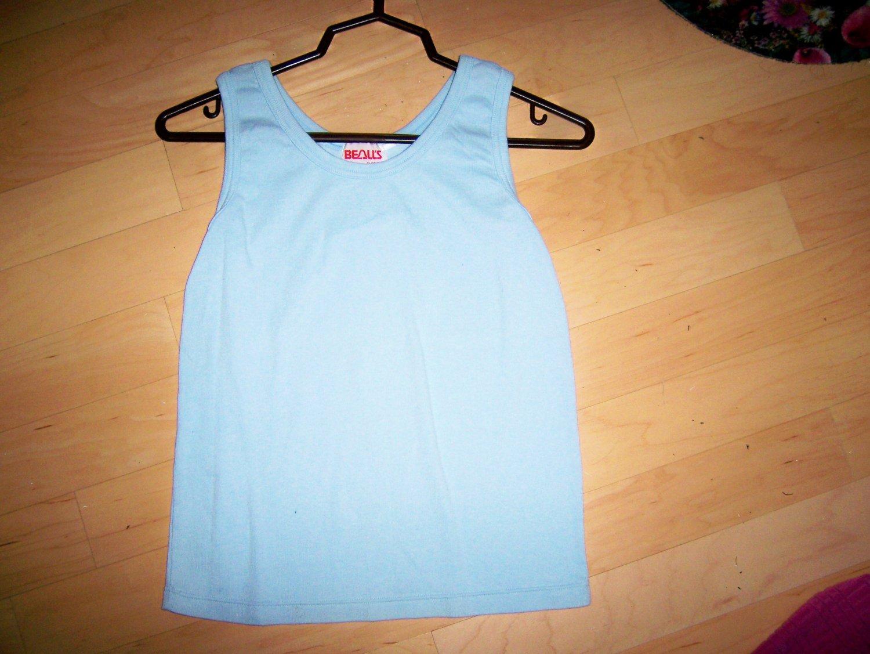 Ladies Tank Top Light Blue Size 10 BNK1618