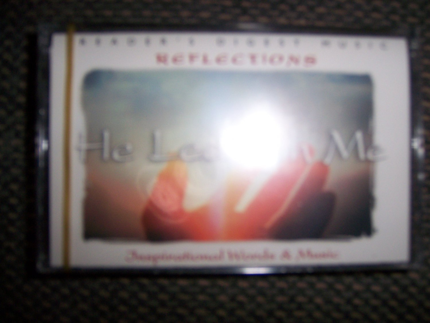 """Cassettes Reflections Series """"He Leadeth Me"""" BNK1627"""