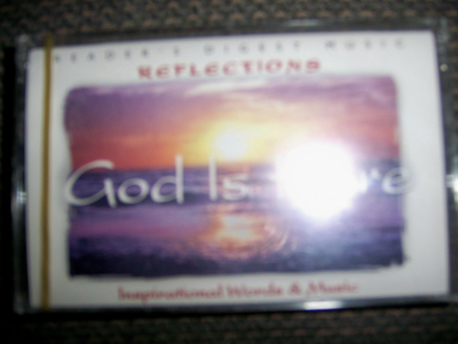 """Cassette Reflection Series  """"God Is Here"""" BNK1637"""