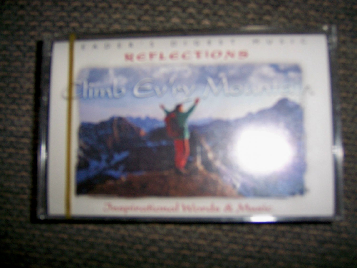 "Cassette Reflection Series ""Climb Every Mountain"" BNK1639"