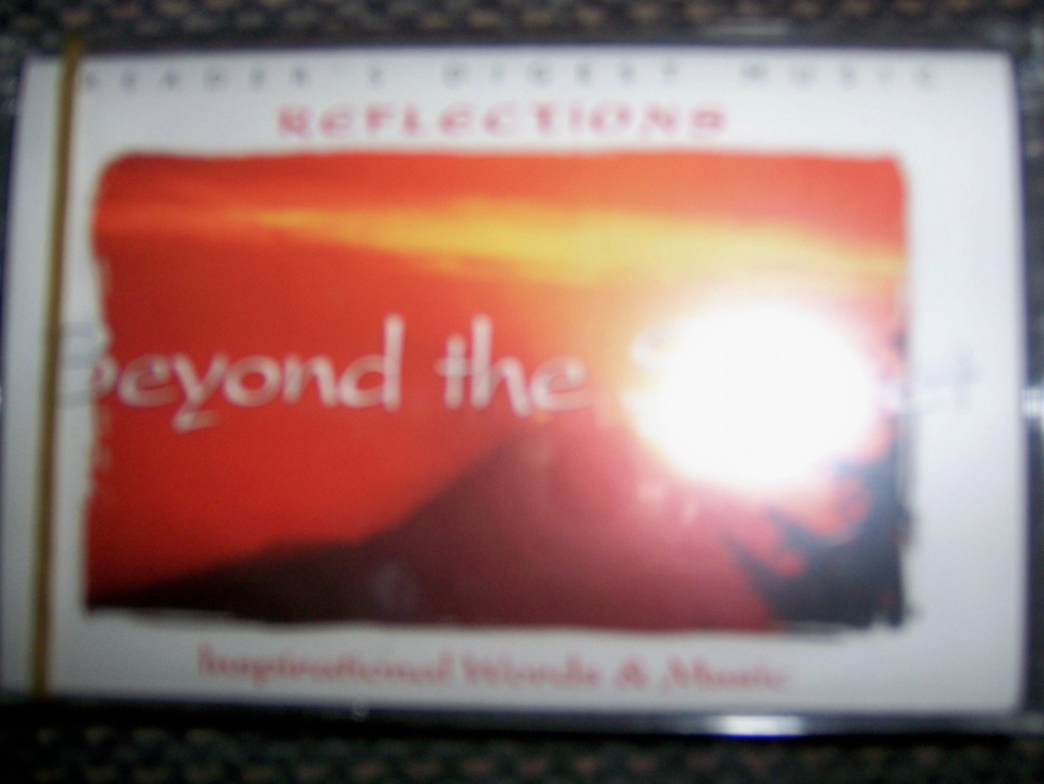 "Cassette Reflection Series ""Beyond The Sunset"" BNK1641"