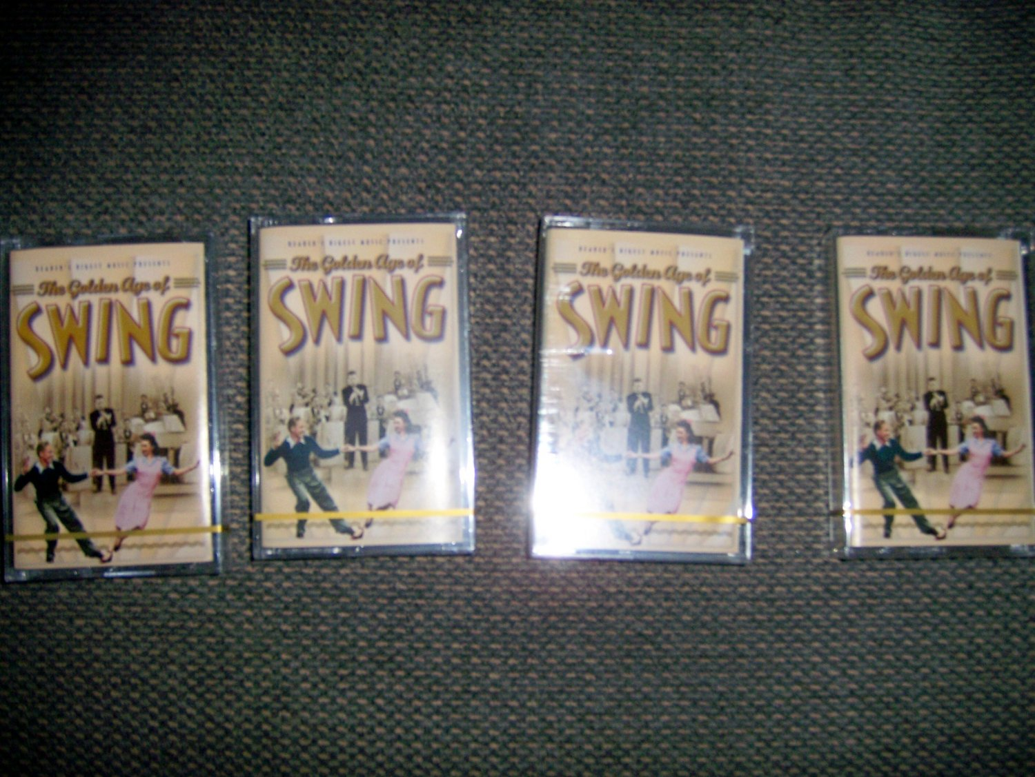 "Cassetes Set Of Four ""The Golden Age Of Swing"" BNK1644"