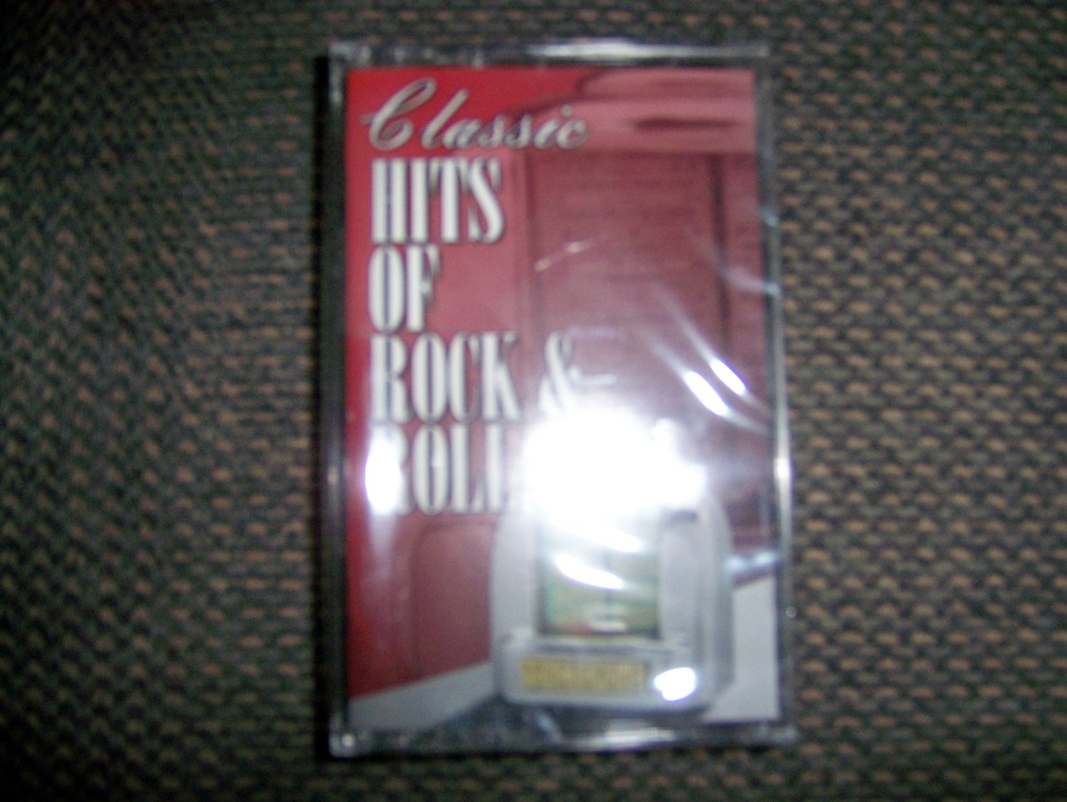 """Cassette """"Classic Hits Of Rock & Roll""""   BNK1646"""