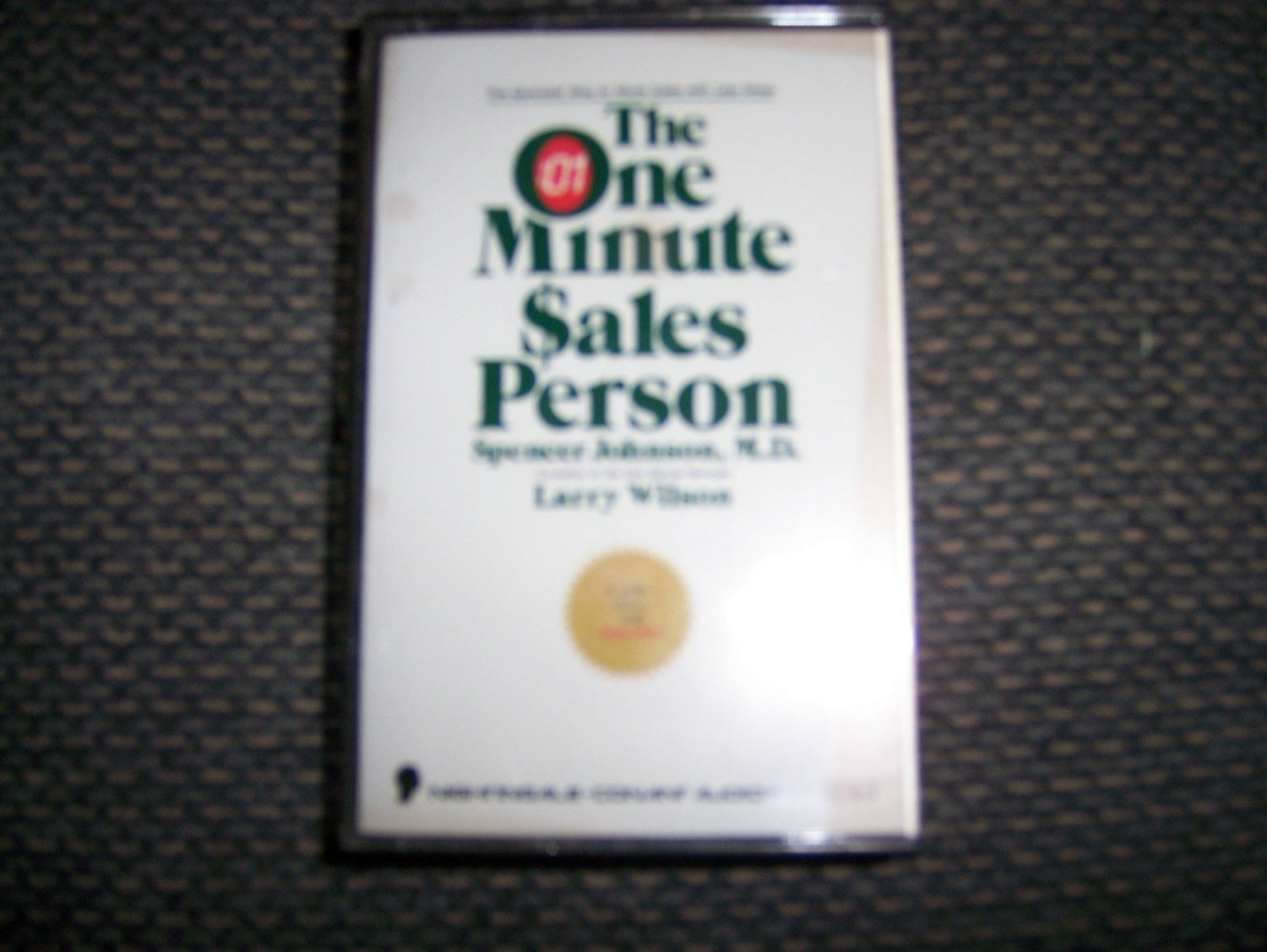 """Cassette """"The One Minute Sales Person""""  BNK1651"""