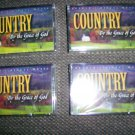 "Cassettes ""Country By The Grace Of God""  4 Set BNK1659"