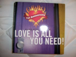 CD Love Is All You Need  Seven Beautiful Songs With Original Artists BNK1743