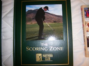 PGA The Scoring Zone Hardcover Book BNK1745