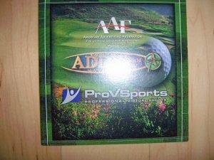 Computor Play Golf AAF Addy World Tour  BNK1841