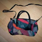 Purse Multi Colored Patchwork Leather Carry Or Shoulder BNK1882