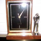 Clock With Golfer Statue BNK1888