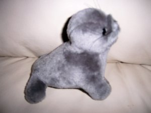 Gray Seal Cuddly Playmate  BNK1907
