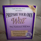 Prepare Your Will  Kit By Legal Self Help  BNK1944