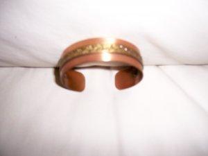 Copper Bracelet w Filagree Decoration  BNK1972
