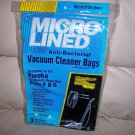 Vacumn Cleaner Bags Anti-Bacterial 3 To Package Style F&G BNK2044