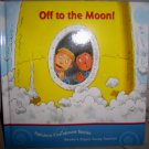"""Off To The Moon"" Hardcover Book  BNK2047"