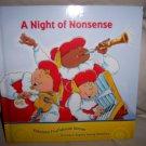 """A Night Of Nonsense"" Hardcover Book  BNK2048"