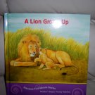 """A Lion Grows Up"" Hardcover Book  BNK2049"
